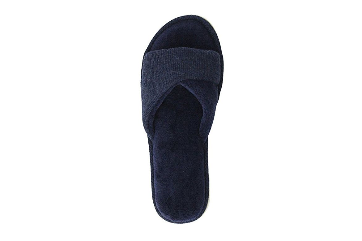 9f81b159d10 Home Ideas Women s Open-Toe Terry Cloth Slippers