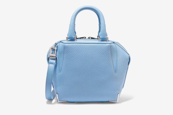 ALEXANDER WANG Emile mini textured-leather shoulder bag