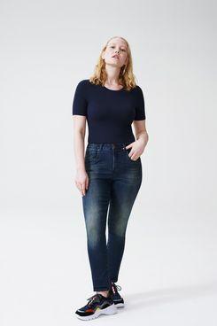 Universal Standard Logan High Rise 5 Pocket Vintage Jeans