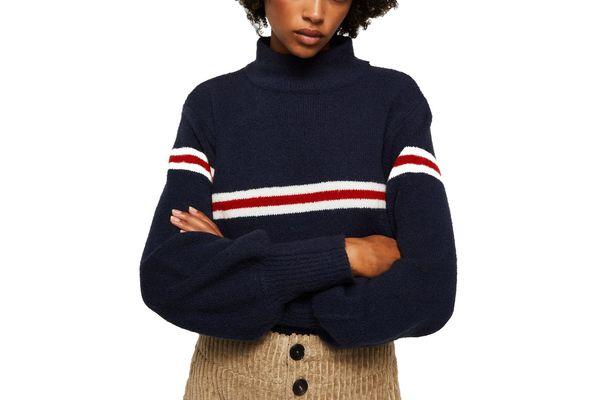 Mango Striped Sweater