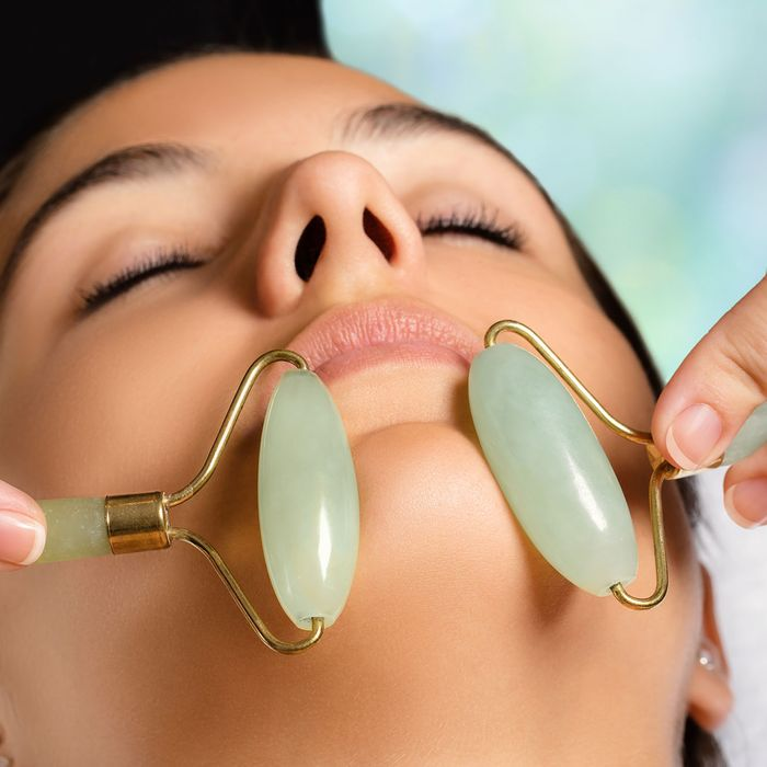 Massage away facial puffiness
