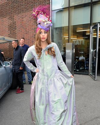 Lady Gaga in London over the weekend.
