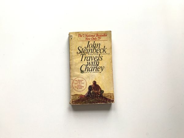 Travels With Charley, by John Steinbeck