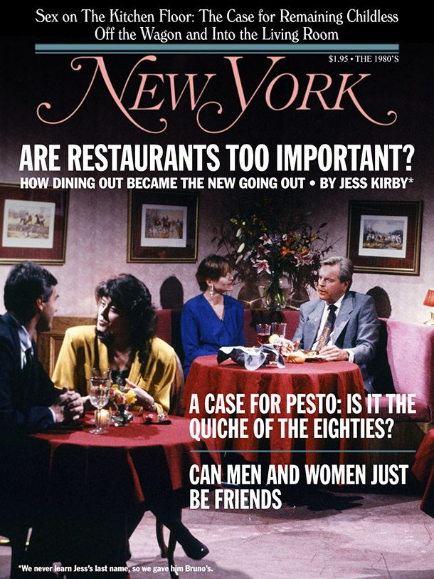 When Harry Met Sally New York Magazine cover