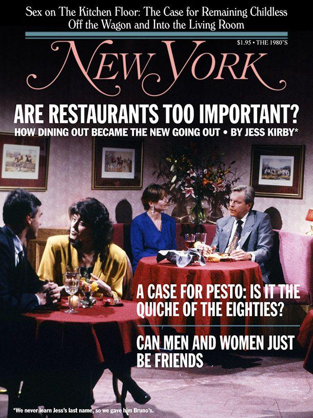 When Harry Met Sally New York Magazine cover