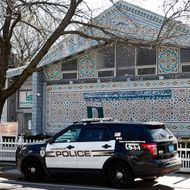 CAMBRIDGE, MA - APRIL 26:  An exterior view of the Islamic Society of Boston Mosque is seen April 26, 2013 in Cambridge, Massachusetts. The mosque was attended by the alleged Boston bombers, Tamerlan and Dzhokhar Tsarnaev.  (Photo by Kayana Szymczak/Getty Images)