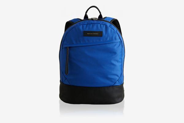 Want Les Essentiels Kastrup Leather-Trimmed Shell Backpack