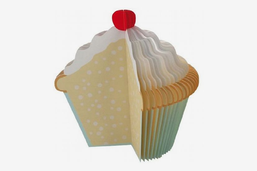 Kikkerland Cupcake Memo Pad