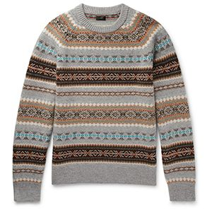 J.Crew Alta Fair Isle Sweater
