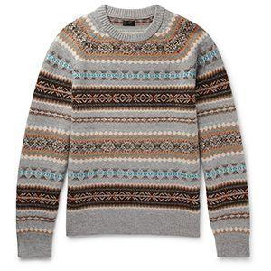 J.Crew Alta Fair Isle Sweater