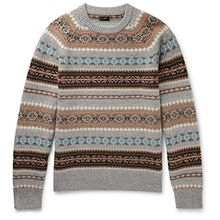 J.Crew Alta Fair Isle Wool Sweater