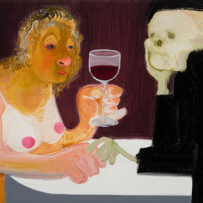 <i>Death and the Maiden</i> by Nicole Eisenman.