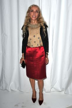 PARIS, FRANCE - OCTOBER 02:  Franca Sozzani attends the Givenchy Ready to Wear Spring / Summer 2012 show during Paris Fashion Week  on October 2, 2011 in Paris, France.  (Photo by Pascal Le Segretain/Getty Images)