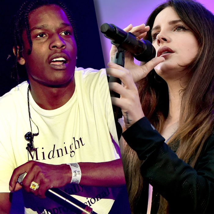 Review Lana Del Rey And A Ap Rocky S New Songs