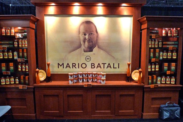 Heck, he already has his own Mario Batali–branded food line.