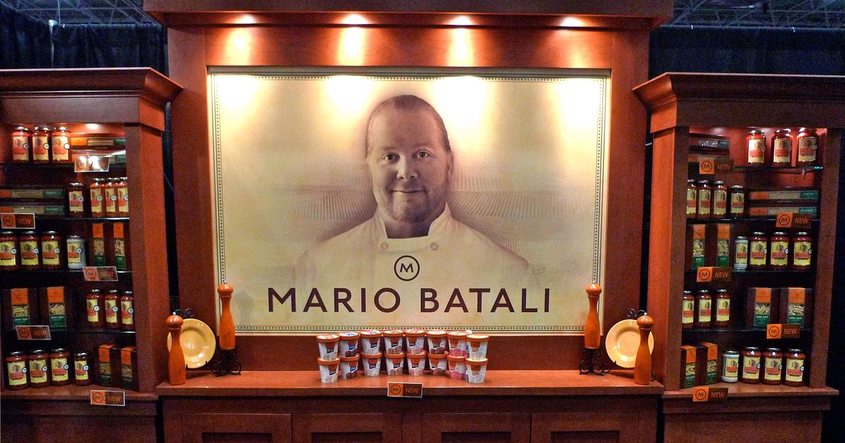 Mario Batali Introduces 'Mario by Mary' Catering Line