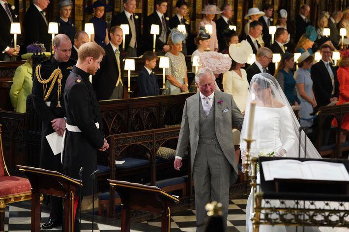 Prince Charles and Meghan Markle.