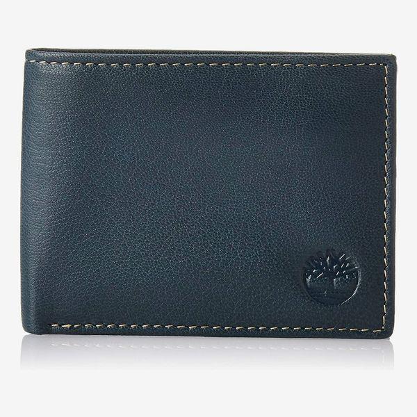 Timberland Men's Blix Slimfold Leather Wallet