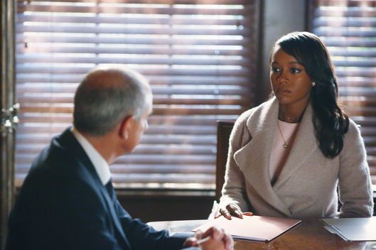 "HOW TO GET AWAY WITH MURDER - ""He Deserved to Die"" (ABC/Michael Ansell)DEAN BUCHANAN, AJA NAOMI KING"