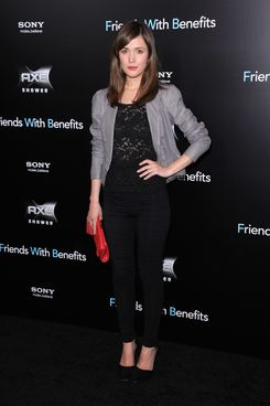 """NEW YORK, NY - JULY 18:  Actress Rose Byrne attends the """"Friends with Benefits"""" premiere at the the Ziegfeld Theater on July 18, 2011 in New York City.  (Photo by Jemal Countess/Getty Images)"""