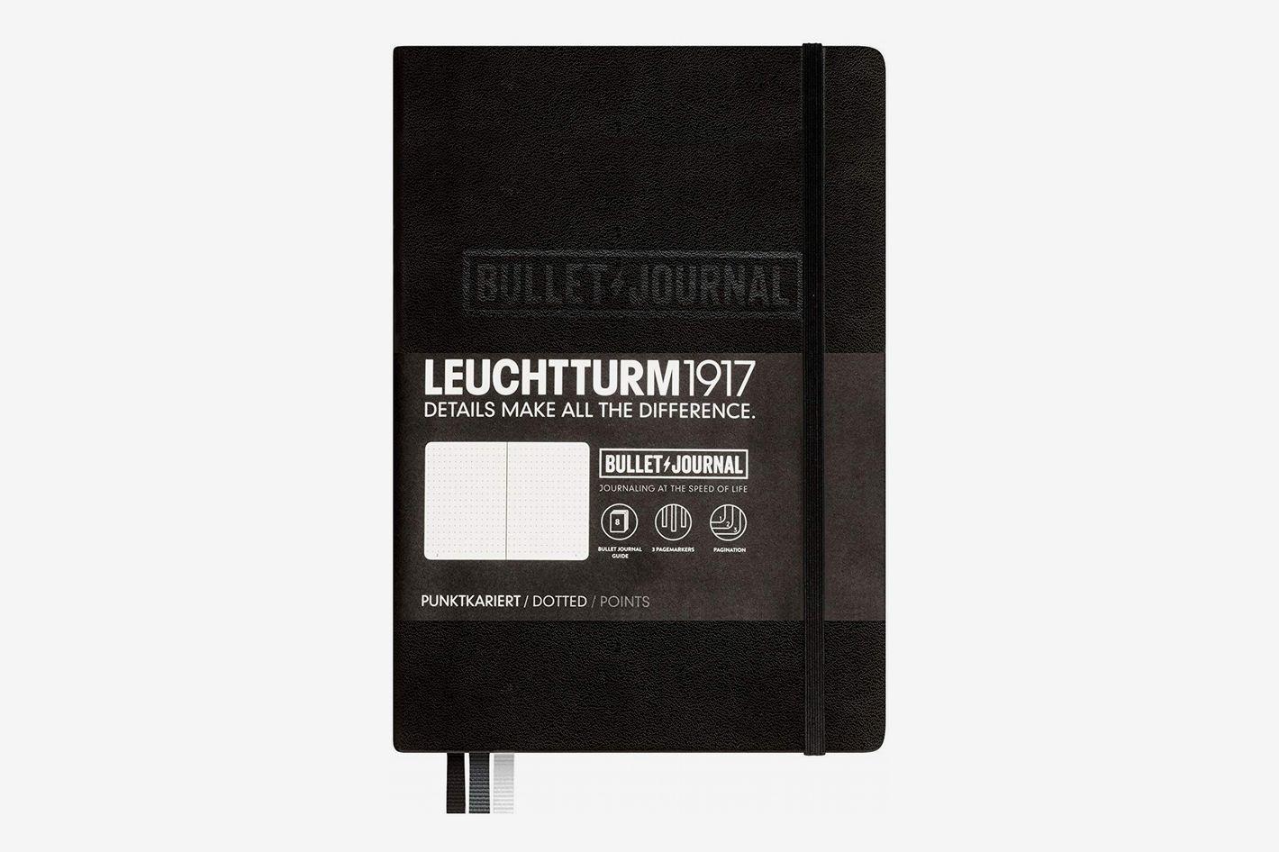 Bullet Journal Notebook, Black, 346703