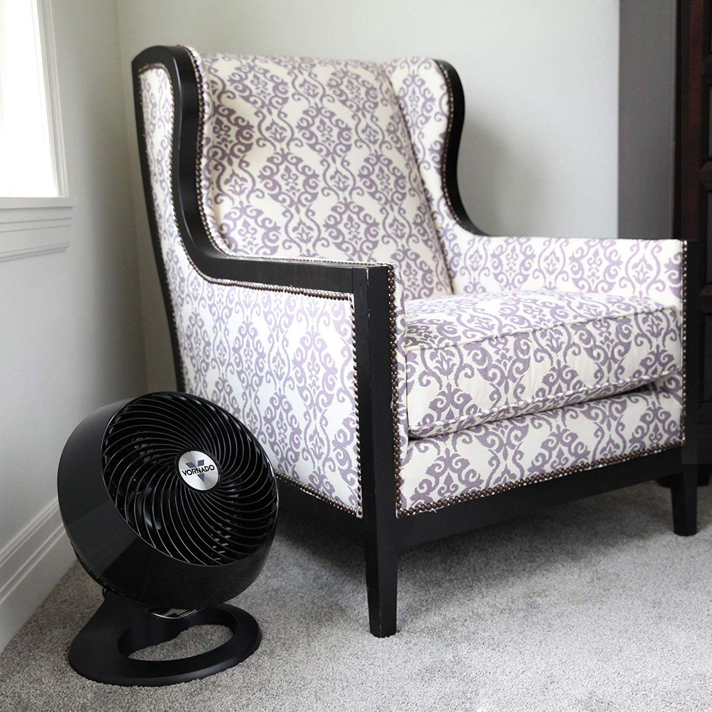 Vornado CR1-0121-06 660 Large Whole Room Air Circulator Fan, Black