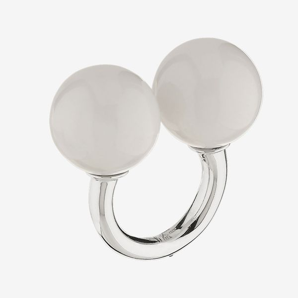 Double Sphere Massage Ring