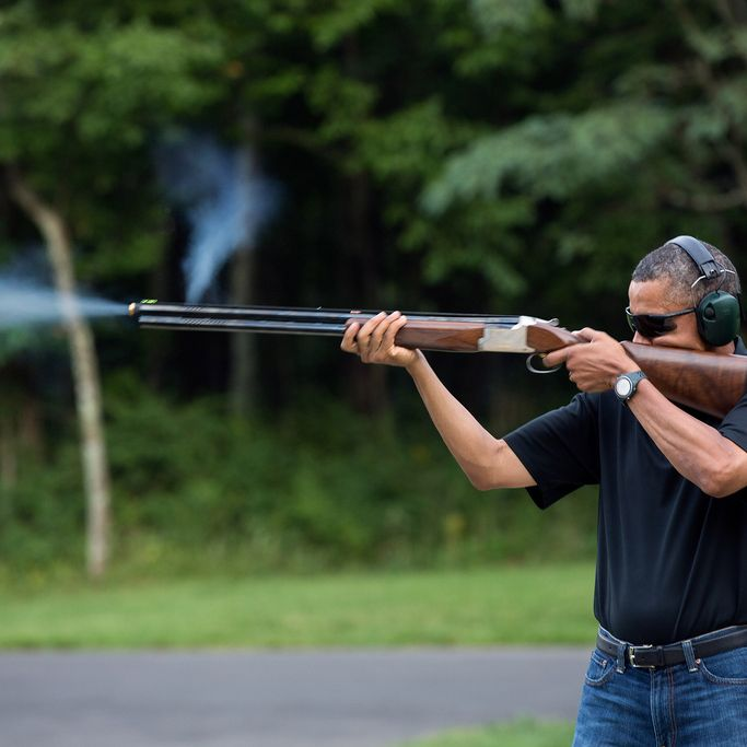 The Totally Serious Guide To Obama Skeet Shooting Photo Conspiracy