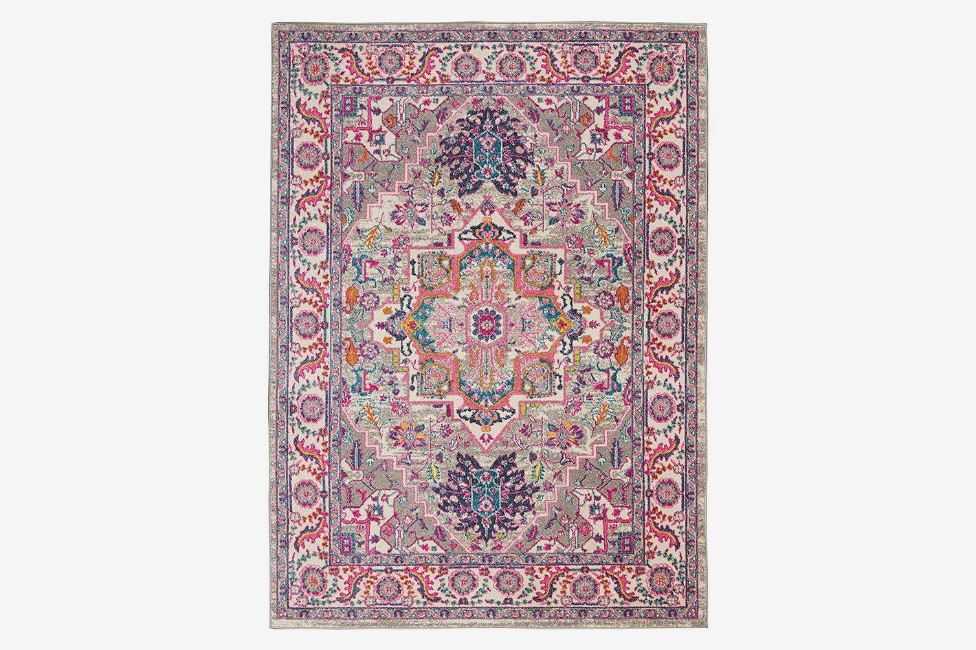 "Nourison Passion Persian Colorful Area Rug, 5'3"" X 7'3"""
