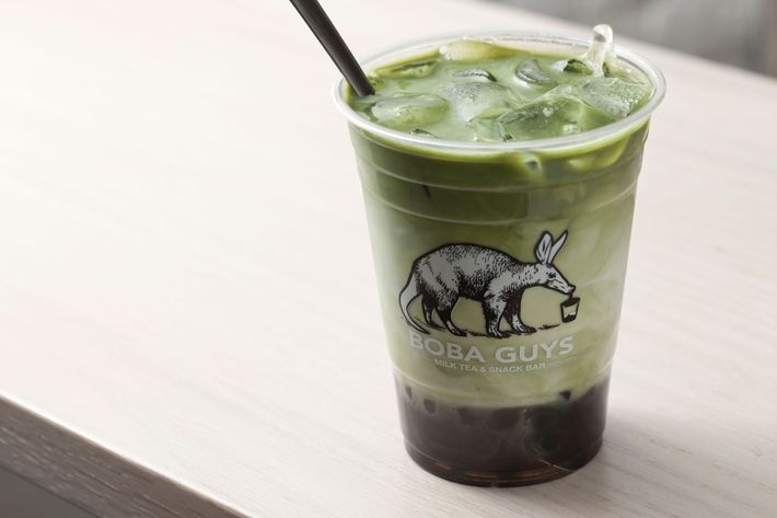 Iced matcha, all together now.