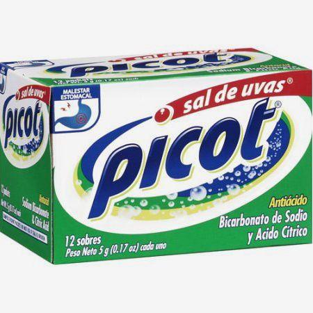 Sal De Uvas Picot Effervescent Antacid, 48 pieces