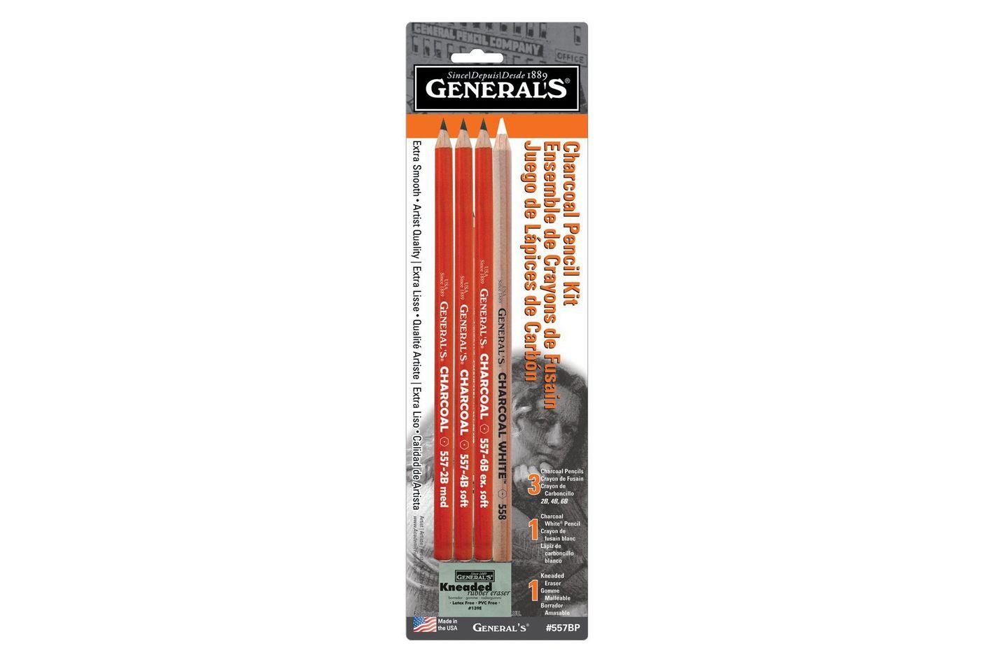 General Pencil Charcoal Pencil Kit