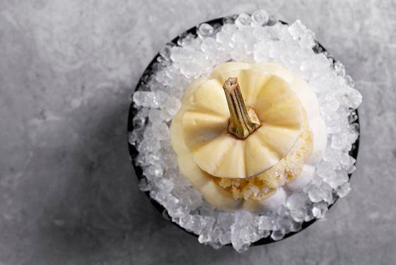 Acme's pumpkin dessert.