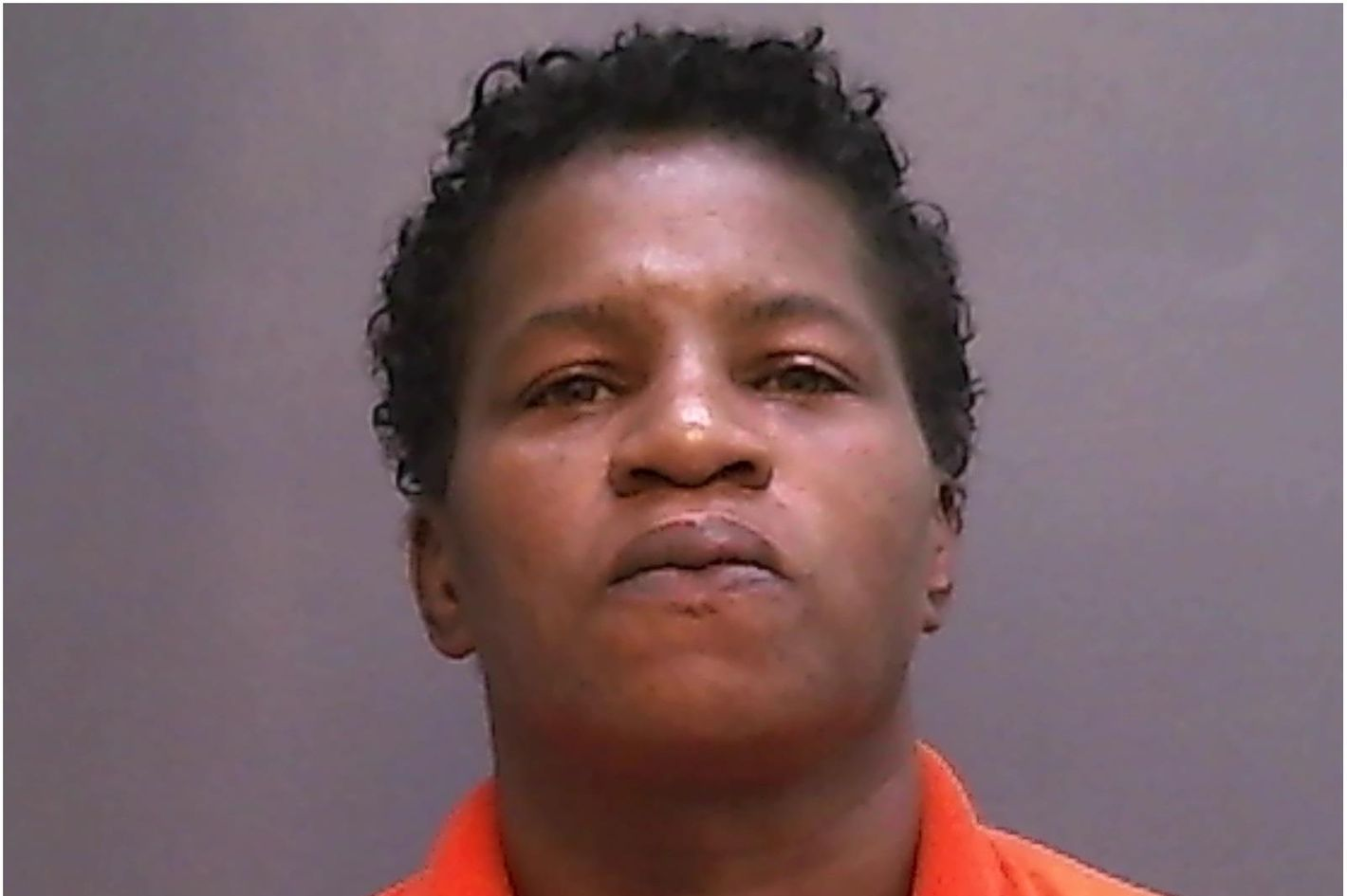 Debra Harrell, on the day of her arrest.