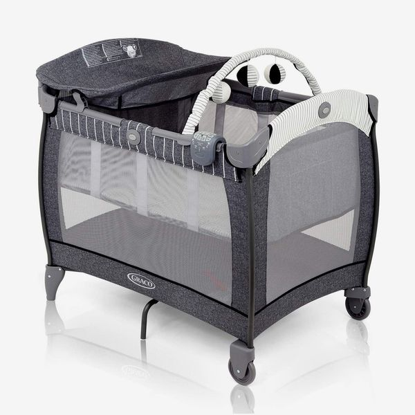 Travel Cot with Integrated Changing Table