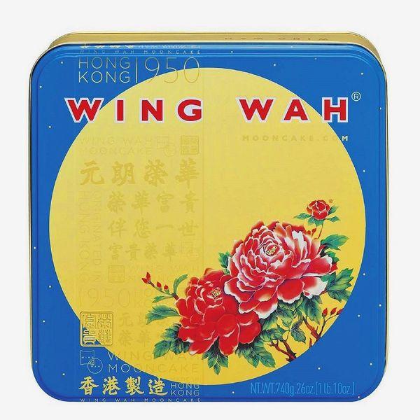 Wing Wah Mooncake White Lotus Seed Paste 2 Yolks
