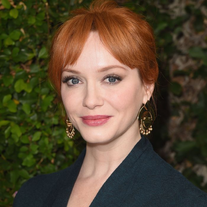 Hair chameleon Christina Hendricks.