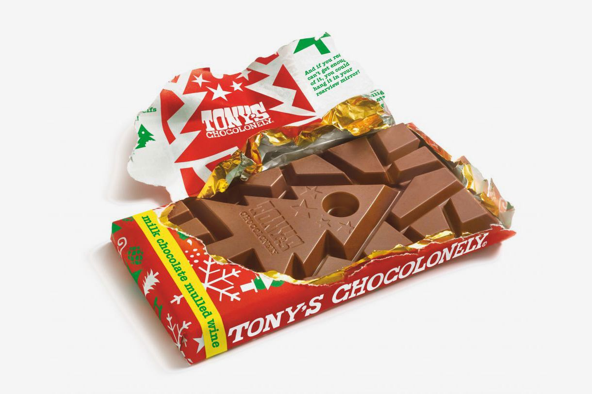 Tony's Chocolonely Milk Chocolate With Mulled Wine