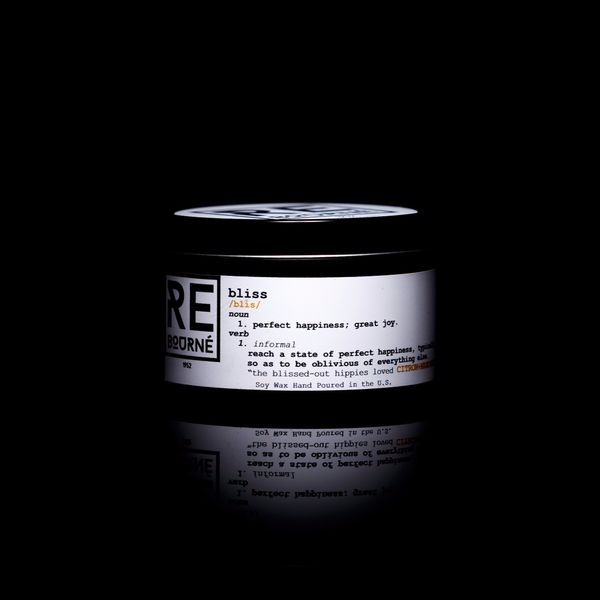 ReBourné Body + Home Citron + Mandarin Scented Candle