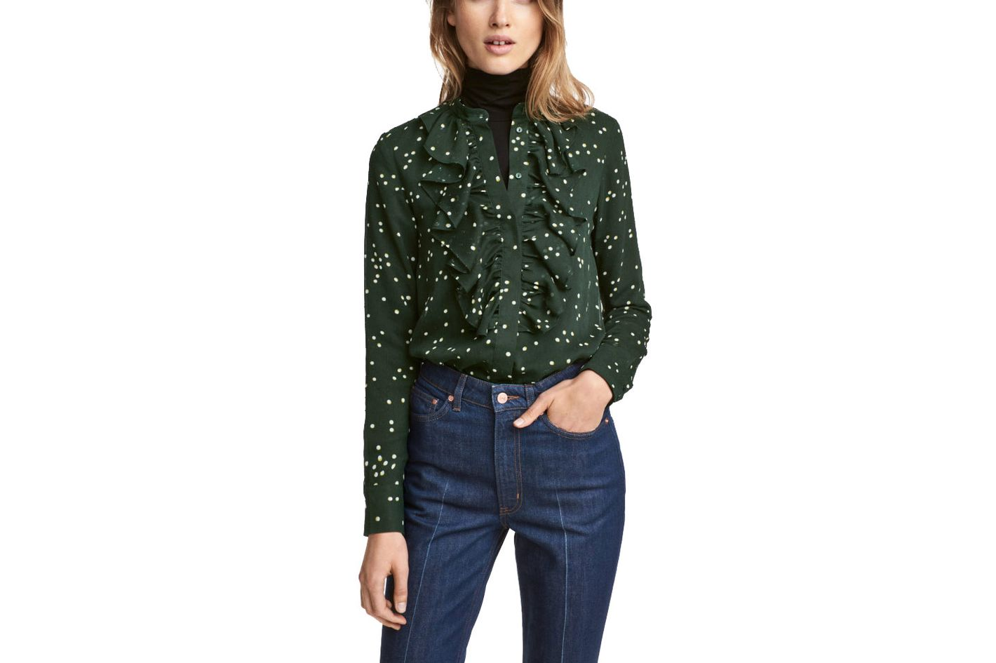 638d9d393f4f64 8 Best Cheap Printed Silk Blouses for Work