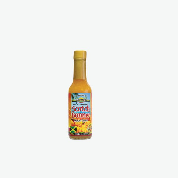 Caribbean Sunshine Jamaican Scotch Bonnet Pepper Sauce