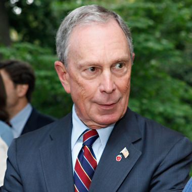 New York City Mayor Michael Bloomberg attends the 2012 Doris C. Freedman Award Ceremony at Gracie Mansion on May 16, 2012 in New York City.