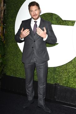 LOS ANGELES, CA - DECEMBER 04:  Chris Pratt arrives at the 2014 GQ Men Of The Year Party at Chateau Marmont on December 4, 2014 in Los Angeles, California.  (Photo by Steve Granitz/WireImage)