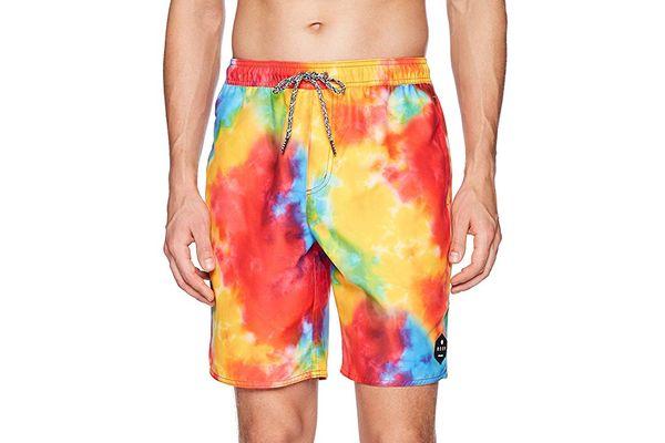 Neff Men's Daily Hot Tub Surf Swim Board Shorts