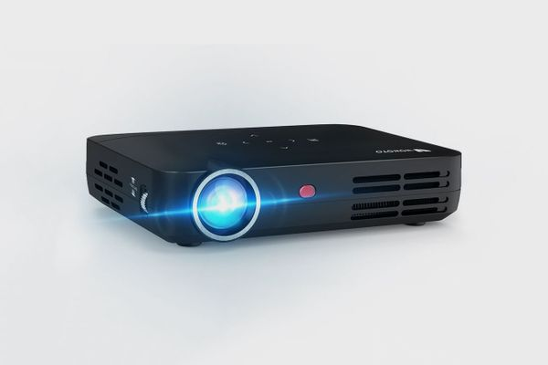 WOWOTO H8 Video Mini Projector DLP LED Full HD 3D Support 1080P