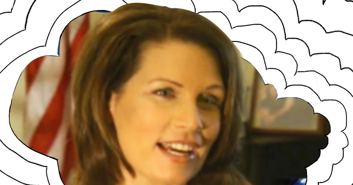 I Think About This a Lot: Michele Bachmann Saying That Her Favorite Food Is Celery