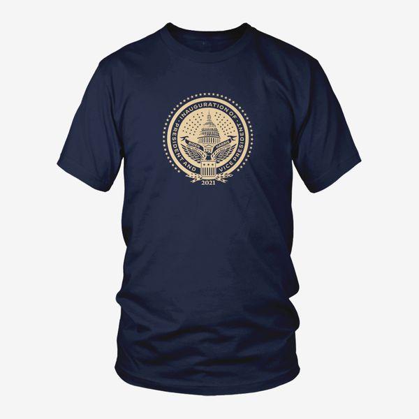 Inaugural Seal Navy T-Shirt