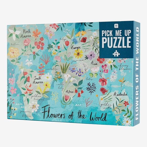Talking Tables 1,000 Piece Flowers Of The World Jigsaw Puzzle