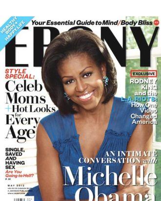 Michelle Obama for <em>Ebony</em>.