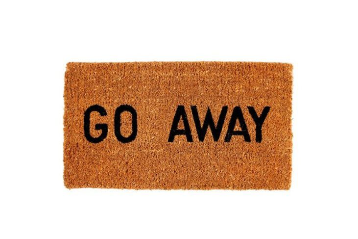 Kempf Go Away Doormat